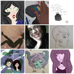 Art vs Artist by LadyInteresting