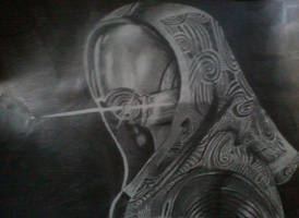 Tali'Zorah Drawing (Finished) by xXBlooWahFullXx