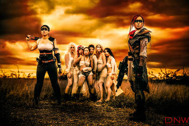 Max Max Assassin - With Furiosa and the Wives by DallasNagataWhite