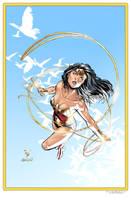 Wonder Woman by 0boywonder0