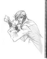 Gambit sketch by 0boywonder0