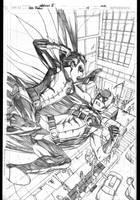 Red Robin 14 cover by 0boywonder0