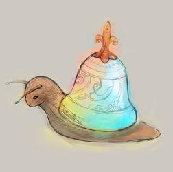 bell snail by nanyin