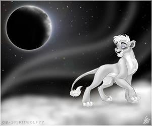 Walking in Space by spiritwolf77