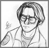 Angsty Daniel Sketch by spiritwolf77