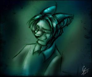 Random Kashur Sketch by spiritwolf77