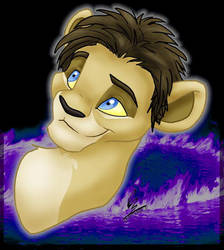 Elijah-lion by spiritwolf77