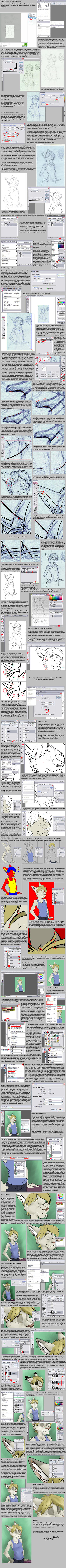 Digital Art Tutorial by spiritwolf77