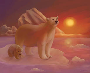 Polar Bear Apocalypse by spiritwolf77