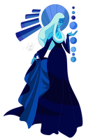 Long Live Blue Diamond (Render) by LadyHeinstein