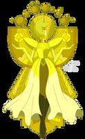 Long Live Yellow Diamond (Render) by LadyHeinstein