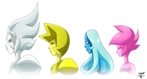 We Are The Diamond Authority by LadyHeinstein