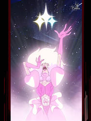 The Shattering of Pink Diamond by LadyHeinstein