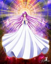 Athena Saori by LadyHeinstein