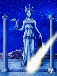 The Nativity of Athena by LadyHeinstein