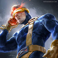 90's uniform Cyclops by zano