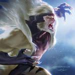 90's X-men: Sabertooth by zano
