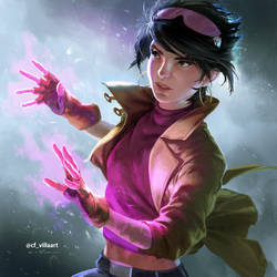 90's X-men: Jubilee by zano
