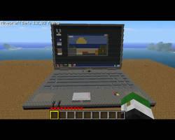 Minecraft Laptop by DeadWaste2