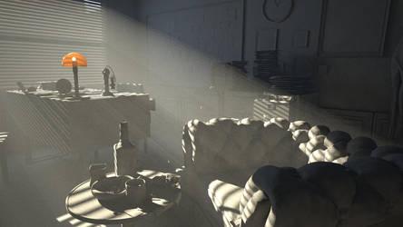 Detective Room Vray Render by Ramdabam