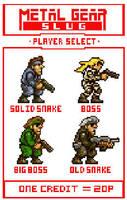 Metal Gear Slug by JHarker