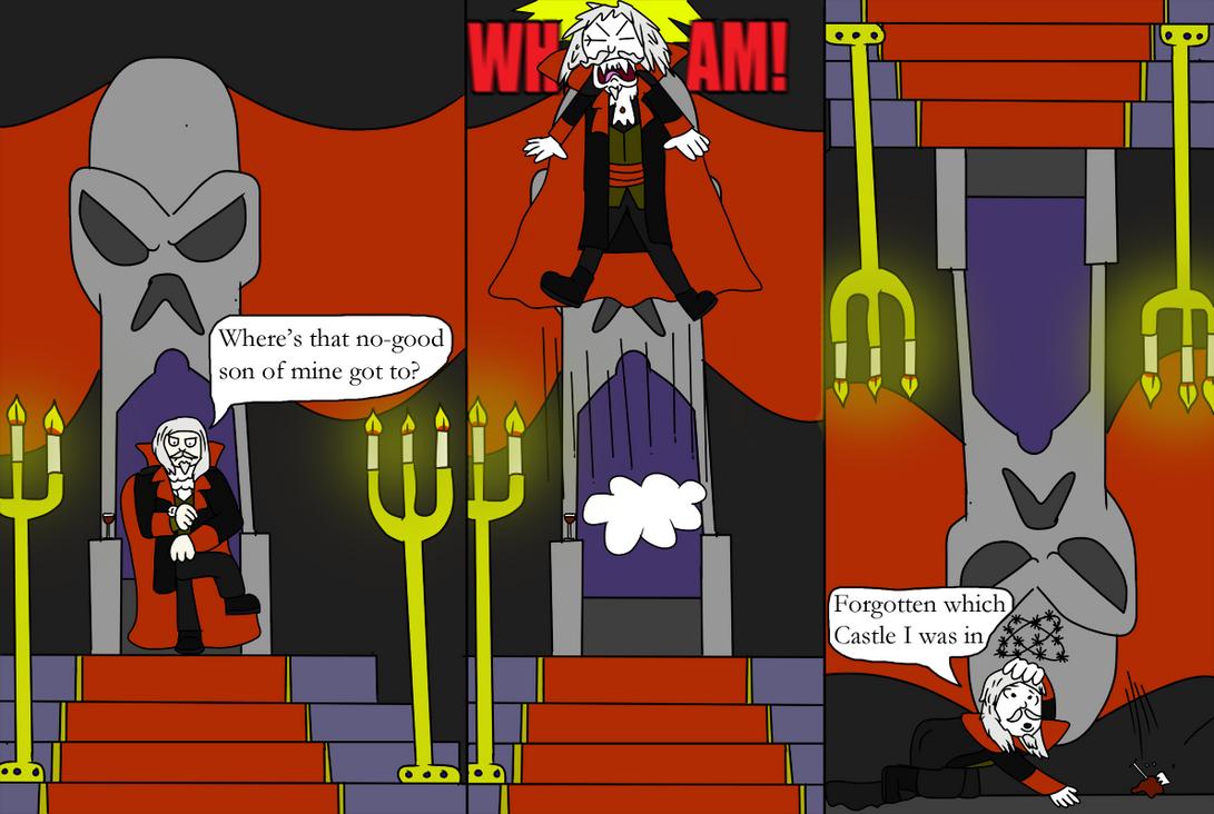 Castlevania SOTN Comic by Luke-the-F0x