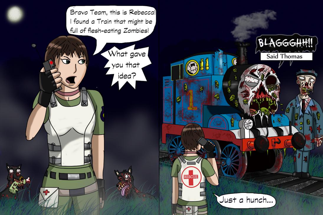 Resident Evil 0 Comic by Luke-the-F0x