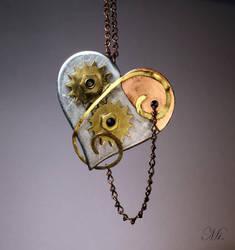 Steampunk heart 32 by TheCraftsman