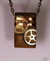 Steampunk pendant 48 by TheCraftsman