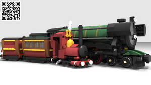 LEGO Cuusoo - Narrow Gauge Steam Engine by Concore