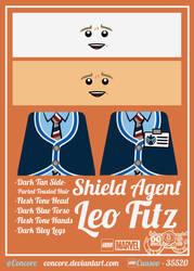 LEGO SHIELD Agent - Leo Fitz by Concore