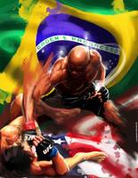 UFC 148 Silva vs Sonnen by acir