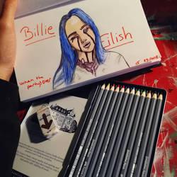 Billie Eilish  by Chattams