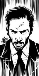 Keanu Reeves by jorgebreak