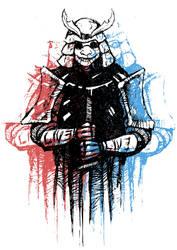 Live Evil Samurai by CrywaveArts