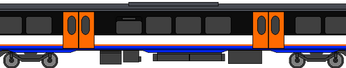 London Overground Class 710/3 w-pantograph by WestRail642fan