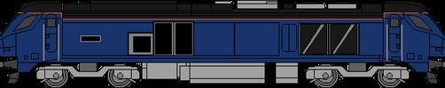 DRS Class 68 by WestRail642fan