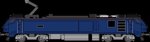 DRS Class 88 w-pantograph up by WestRail642fan