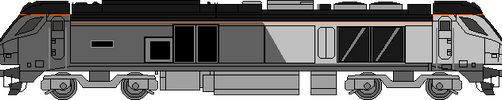 Chiltern Class 68 by WestRail642fan