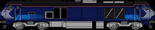 Scotrail Class 68 by WestRail642fan