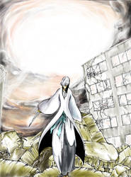 Ichimaru Gin on intuos 4 by Miloeden by Miloeden