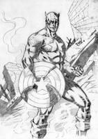 Captain America by DLimaArt