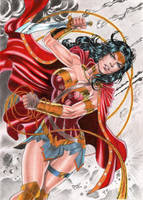Wonder Woman by DLimaArt