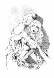 Supergirl by DLimaArt