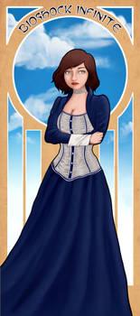 Bioshock Infinite Elizabeth Nouveau by Pooq45