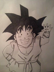 Goku by Neravi