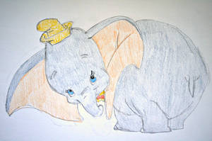 Lil' Dumbo by elephanza