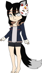 Custom: Kitsune Girl by CommandersKeeper