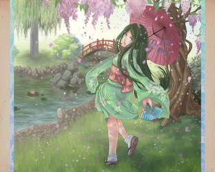 SDL: A Shower of Flowers by Kaorien