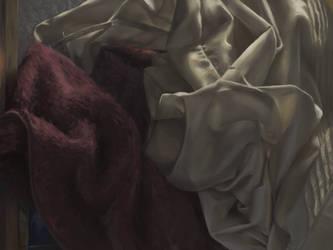 Weaving Through the Folds by Kaorien
